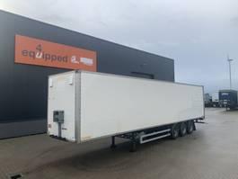 gesloten opbouw oplegger Fruehauf Drumbrakes, full chassis, hardwooden floor, NL-trailer 2007