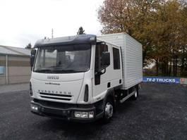 bakwagen vrachtwagen Iveco EuroCargo 80 80E18 Dubbele Cabine 177300kms!! 2006