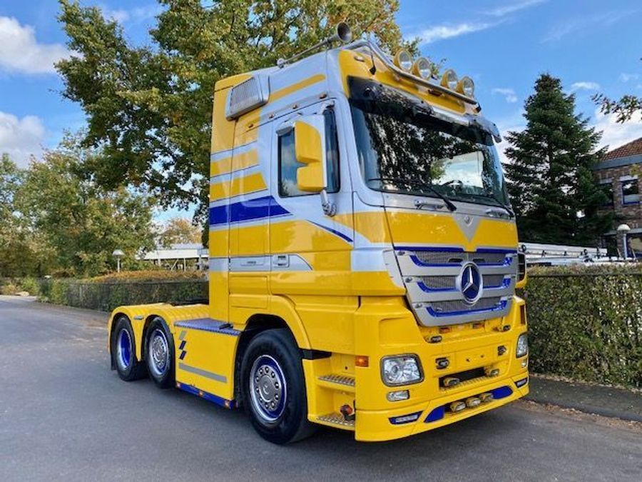 Mercedes-Benz - ACTROS 2555 LS 6x2 MP3-V8-Retarder Fg Nr. L562 2