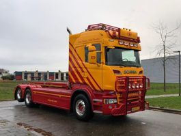 containersysteem vrachtwagen Scania Scania R730 Highline 6x2 Nch kabel systeem 2013