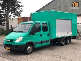 gesloten bestelwagen Iveco FOOD TRUCK - CLICKSTAR - DOUBLE CABIN - NL BE COMBI - TOP! 2007