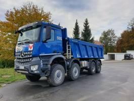 kipper vrachtwagen > 7.5 t Mercedes-Benz 4145 - 8x8 BB - EINZELBEREIFT - Meiller Aufbau
