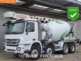 betonmixer vrachtwagen Mercedes-Benz Actros 3236 B 8X4 Big Axle Euro 5 Theam-16.5m-Förderband 2010