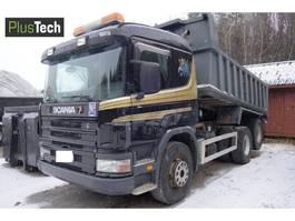 kipper vrachtwagen > 7.5 t Scania 124 G 1997