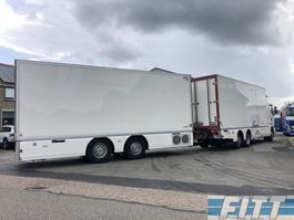 gesloten opbouw aanhanger DRACO Draco14-wipcar icm Scania14-G410-6x2 koelvries-combi 2014