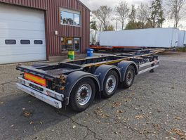 container chassis oplegger KAESSBOHRER CS EX MULTICONT- SAF - Disc Brakes -ADR - ALL SORTS CONTAINERS 2016