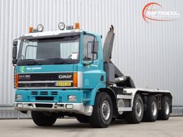containersysteem vrachtwagen Ginaf M 4345-TS 8x6 35t. Haakarm, Hooklift, Abrolkipper - Manuel 2000
