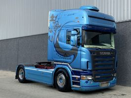 standaard trekker Scania R580 / Manual / Retarder / Analoge tacho / Rondom luchtvering / PTO / Hy... 2005