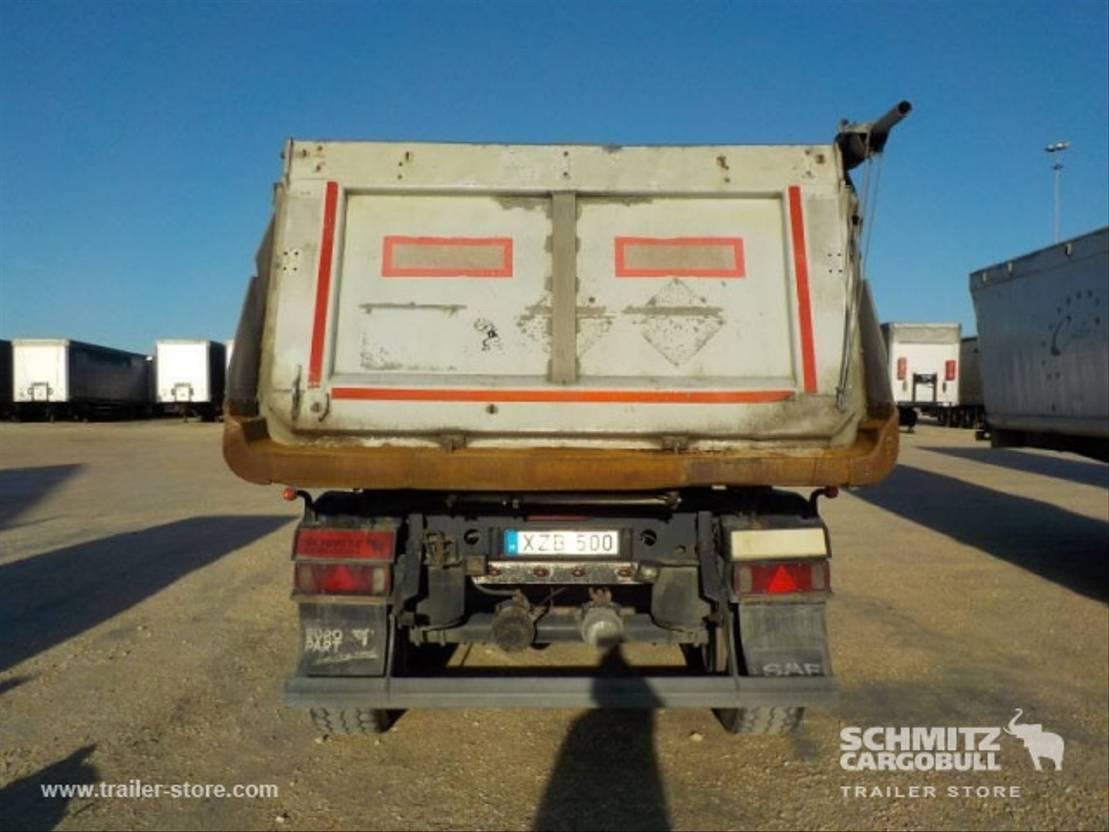 kipper oplegger Schmitz Cargobull Semitrailer Tipper Alu-square sided body 24m³ 2008