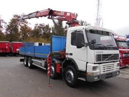 kraanwagen Volvo FM 380 8X4 Pritsche + KRAN HMF + Radio Control HMF 2820