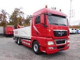 kraanwagen MAN TGX 26.480, EEV, 6X2, Kraan mit RC 2011