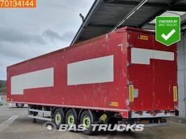walking floor oplegger Legras 86m3 6mm Floor APK 3-2021 3 axles Liftachse 2010