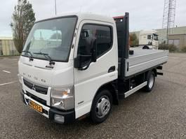 platform bedrijfswagen FUSO CANTER 3s13 open laadbak airco 3500kg trekhaak NIEUW 170km 2020