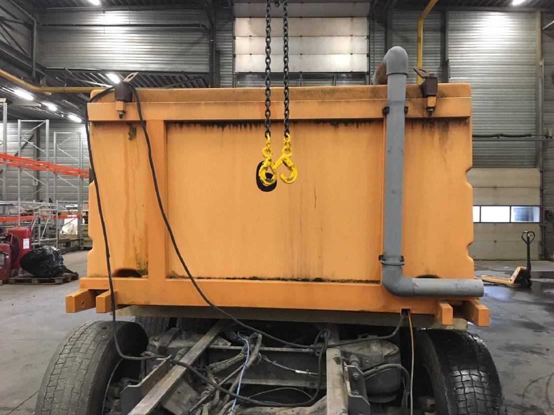 Opbouw vrachtwagen onderdeel Diversen Occ tankwagen vistransport