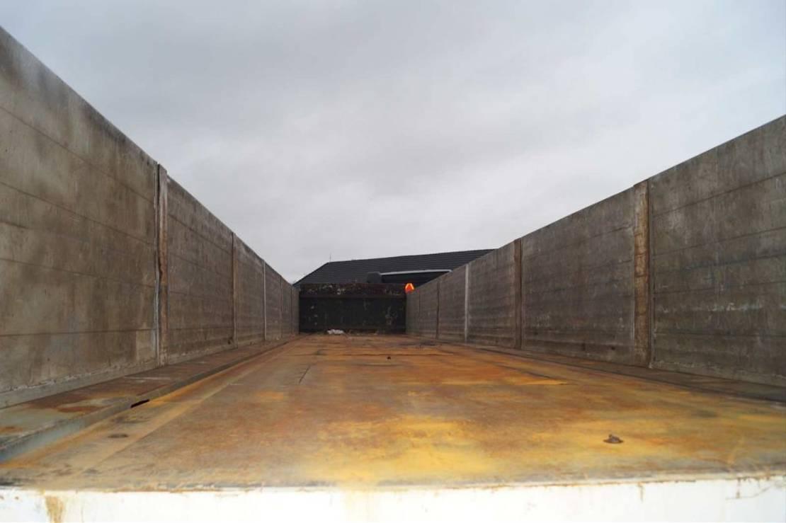 open laadbak oplegger EKW 3-assige oplegger 1995