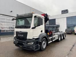 kraanwagen MAN New Generation MAN TGS 35.470 8x4-4 BL-NN kraan+containerhaak 2021