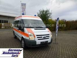 ambulance bedrijfswagen Ford Transit 2,2 TDCI KTW mit Tragestuhl Schönebeck 2011