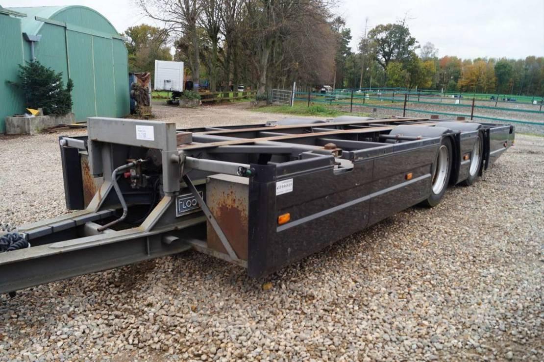 container chassis aanhanger Floor 2-assige aanhangwagen 1999
