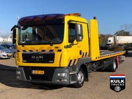 takelwagen-bergingswagen-vrachtwagen MAN TGL 12.220 EEV / TOW ABSCHLEPP DEPANAGE 3 CARS! 2011
