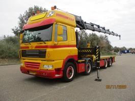 kraanwagen DAF CF 85 460 EURO 5 8X2 HIAB 600 E 7 XS HIPRO 2009