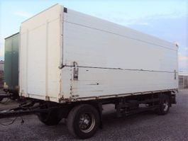 verkoop opbouw aanhanger Schmitz Cargobull 2 achs Getränke 18 to luft LBW 2to Ladungzert 27 2002