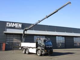 kipper vrachtwagen > 7.5 t Volvo FMX 460 6x6 R EEV HIAB 244 EP-5 Hipro 2012