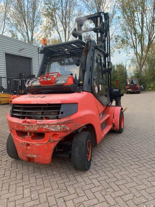 vorkheftruck Linde H80T900 2013