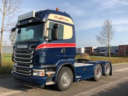 standaard trekker Scania Scania R500 Highline 6x2 PTO / LOW KM / manual 2012