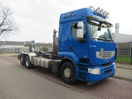 containersysteem vrachtwagen Renault Premium 450 DXI 6x2 Haakauto VDL 21000 kg 2009