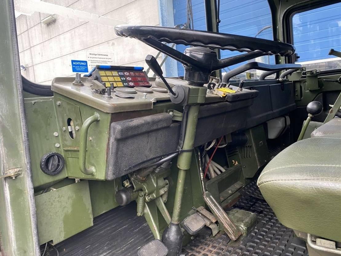 leger vrachtwagen MAN Kat 1 6x6
