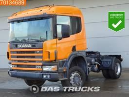 standaard trekker Scania P124-360 4X4 4x4 Manual Big-Axle Steelsuspension Euro 2 1997