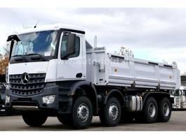 kipper vrachtwagen > 7.5 t Mercedes-Benz Arocs 4142 8x4 Dreiseitenkipper Meiller Bordmatik 2020