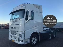 standaard trekker Volvo FH540 6x4 tandem lift boogi 2019