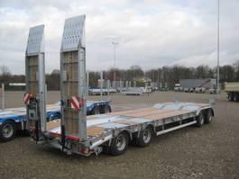 semi dieplader oplegger Humbaur 4 assige dieplader aanhangwagen 2021