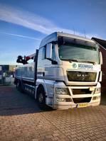kraanwagen MAN TGX 26.440 6X2-2BL 2012