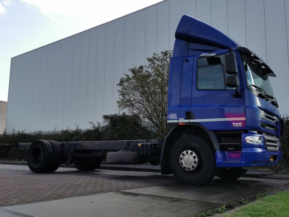 chassis cabine vrachtwagen DAF CF 65.220 eev airco wb 540 cm 2012