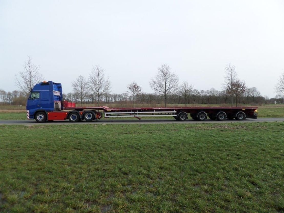 semi dieplader oplegger Broshuis 4AOU-58/3-15 Triple Extendable Wing Carrier - 52.9 mtr - 2016