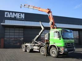 containersysteem vrachtwagen Mercedes-Benz Actros 4141 Euro 5 Haak/Kraan 2012