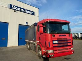 huifzeil vrachtwagen Scania R144 LB6X2*4NA 460 1999