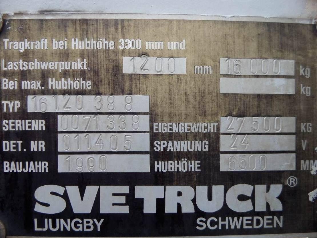 vorkheftruck Svetruck 16120 1990