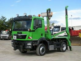 containersysteem vrachtwagen MAN TGM 15 4x4 BL Absetzkipper Winterdienstplat 2015