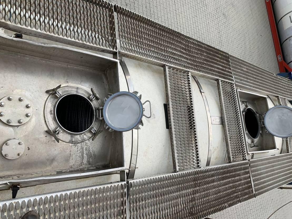 tankcontainer Van Hool 20FT, swapbody TC 28.200L, L4BN, UN PORTABLE, T7, payload: 31.720kg, valid 2,5Y inspection: 02-2023 2003
