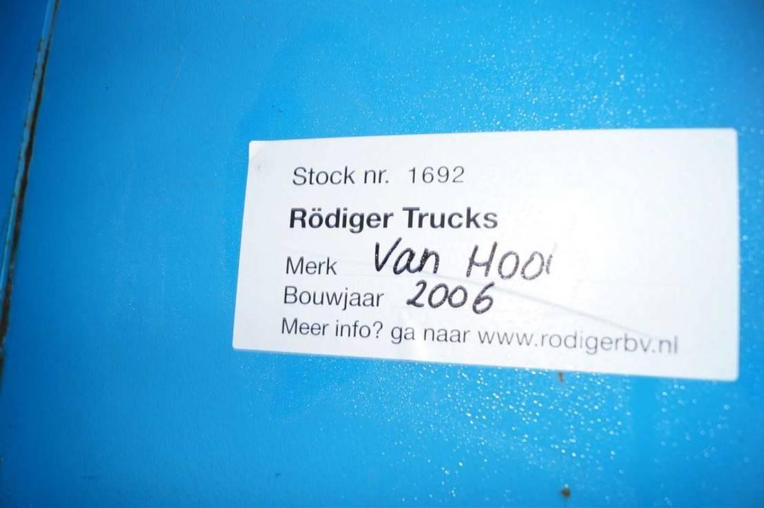 schuifzeil oplegger Van Hool 3-assige oplegger 2006