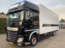 koelwagen vrachtwagen DAF XF 440 FA SSC Bloemen auto  Rollenbanden 2015