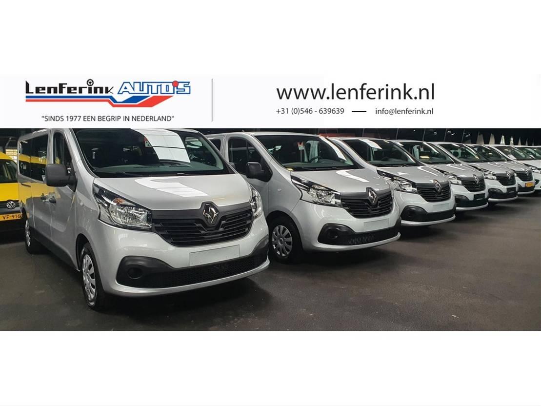 mpv auto Renault Trafic 1.6 dCi Combi 9 Persoons 20x 2016/17 v.a. 16900,- ex BTW, BPM vrij 2016