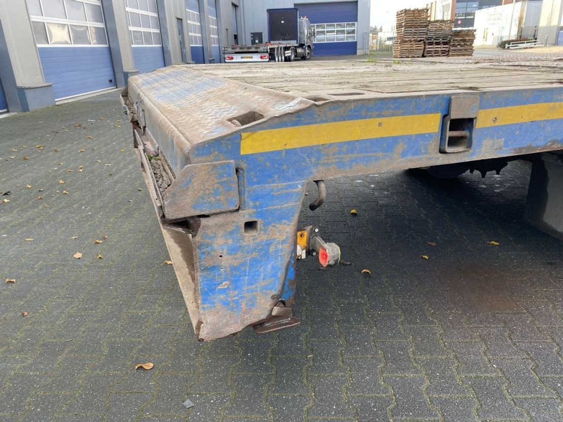 semi dieplader oplegger Nooteboom MC0-48-03 Extandeble / Power steered / 20.40 Mtr. / Breiterung / TUV 1993