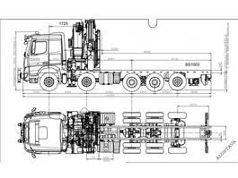 kraanwagen Sisu Crane CK 16-580 hv 10x4 Hiab 1085 E8 + Jib X6