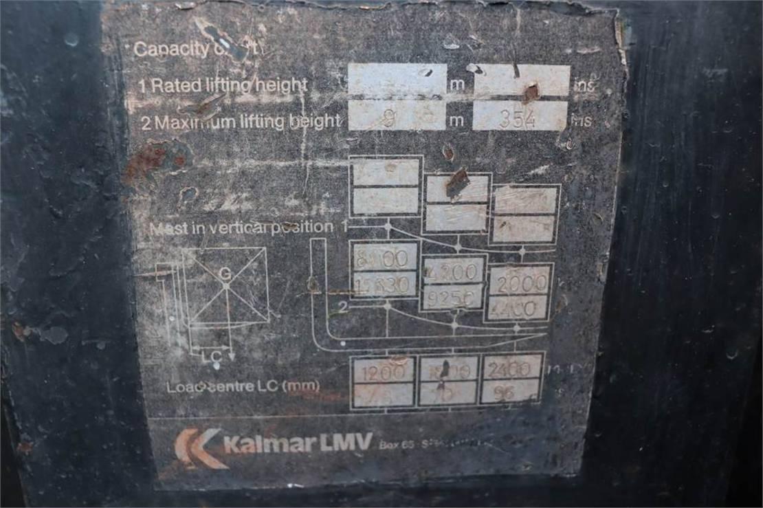 vorkheftruck Kalmar 16-1200 CS PLEASE NOTE: Engine Not Running, Functi 1983