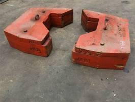 overige equipment onderdeel Faun ATF 60-4 counterweight 0,5+0.16 t