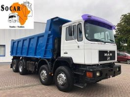 kipper vrachtwagen > 7.5 t MAN 41.372 8x4 FULL STEEL 1995